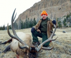 Robert Bowen with an awesome bull