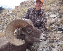 Rick Martin with his area 1 Ram