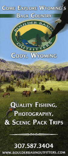 Quality Fishing, Photography, & Scenic Pack Trips Brochure
